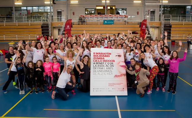 Más de 400 participantes en el maratón solidario