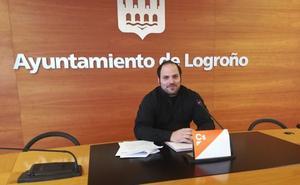 Cs critica la falta de transparencia en la licitación del Plan Joven de Logroño