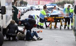 Una mujer atropellada en Avenida Colón