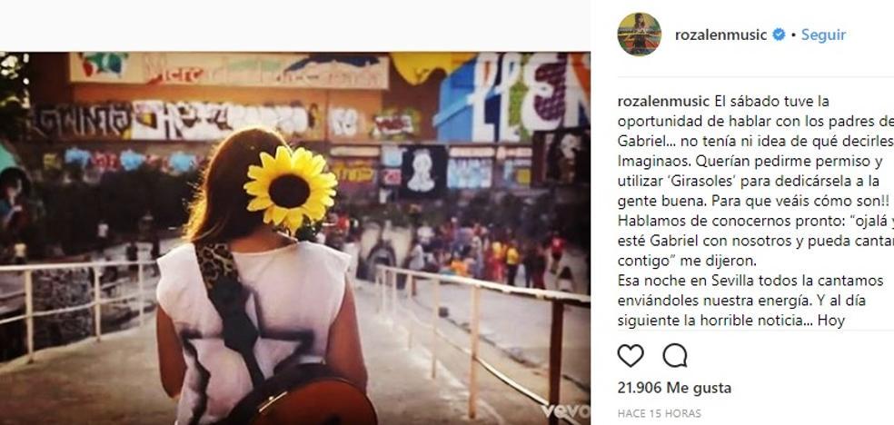 Los 'Girasoles' de Rozalén, el himno de la gente buena