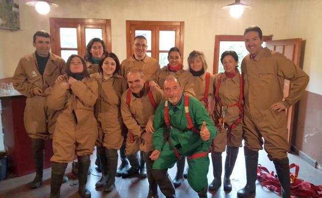 El club Sampol realizó espeleología en Puras