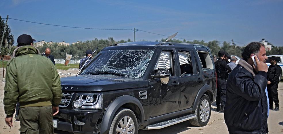 Un atentado contra el primer ministro complica el proceso de unidad palestino