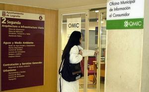 Telecomunicaciones y venta a distancia centran las consultas en la OMIC de Logroño