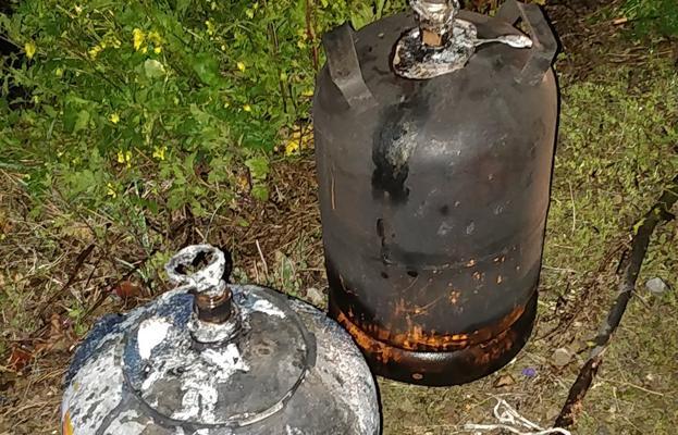 Una persona atendida por inhalación de humos en un incendio en Medrano