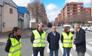 Dos meses de obras en Logroño