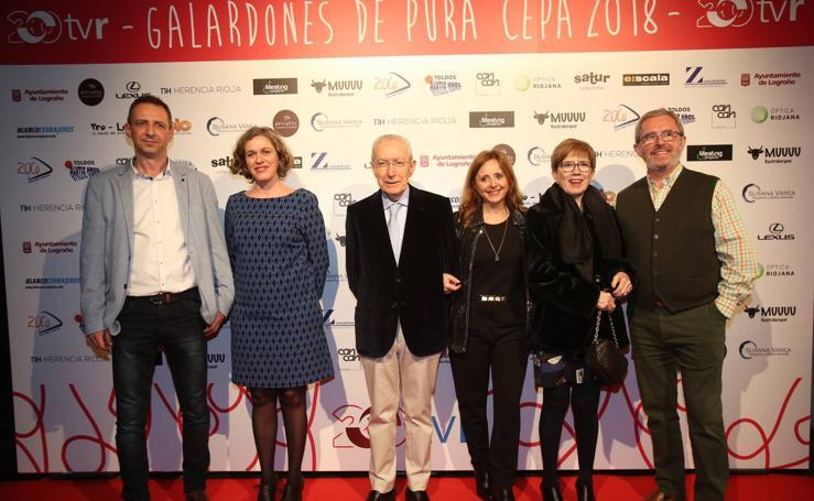 TVR entrega sus premios 'De pura cepa' (el photocall)