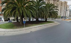 Herida una ciclista al chocar contra un turismo en Logroño