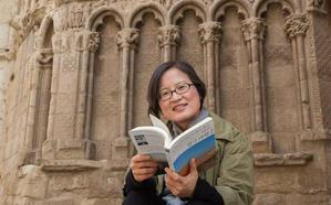 La coreana Kim Nam Hee proclama en Logroño los «valores universales» del Camino de Santiago