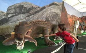 """Un """"Parque Jurásico"""" en Logroño"""