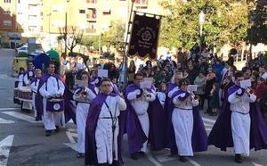 Lardero pone ritmo a la Semana Santa