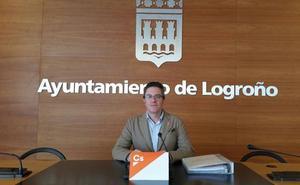 Cs pedirá la paralización de la licitación del contrato de mantenimiento de jardines de Logroño