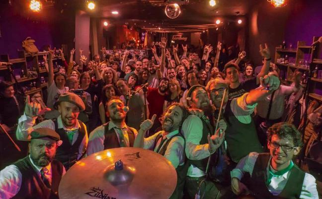 The Derty Gerties presenta su primer disco, 'Gertified', con dos conciertos por San Patricio
