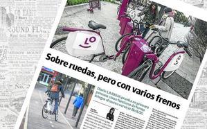 El nuevo sistema 'BiciLOG', a prueba