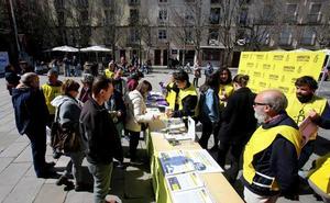 Diversas organizaciones piden en Logroño la derogación de la Ley Mordaza