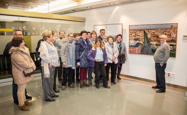 Visita a la exposición de José Luis Rodríguez