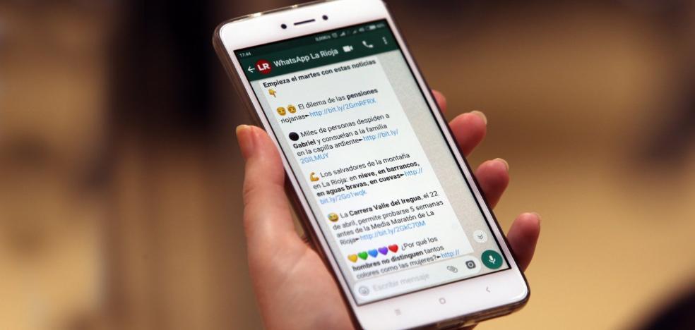 Diario LA RIOJA, ahora en tu WhatsApp