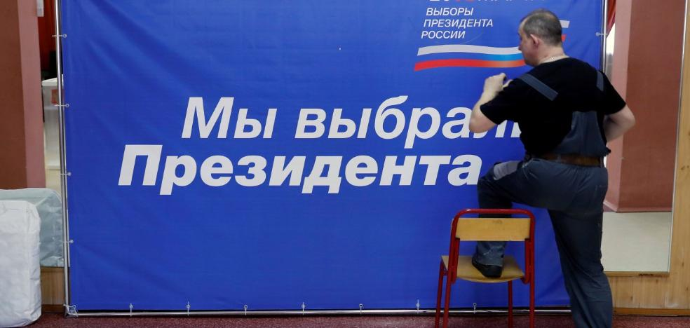Putin se garantiza un triunfo indiscutible