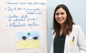 Una residente de psiquiatría del San Pedro premiada en unas jornadas en Toledo