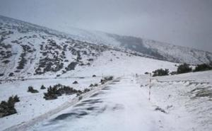 Este lunes, nieve a 400 metros