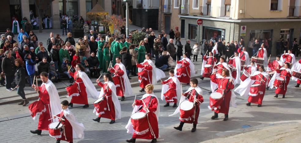 Los sonidos de la Semana Santa se imponen en Alfaro