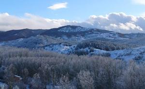 El invierno se despide de La Rioja con otra nevada