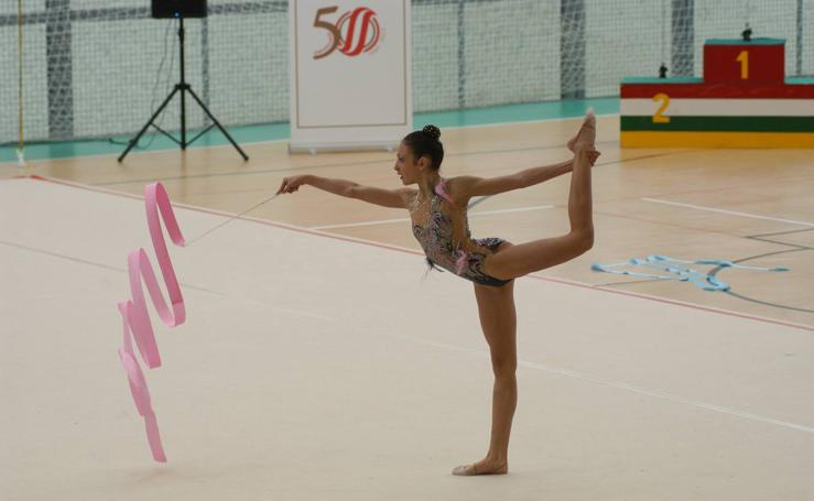 Torneo de Gimnasia Rítmica en Calahorra