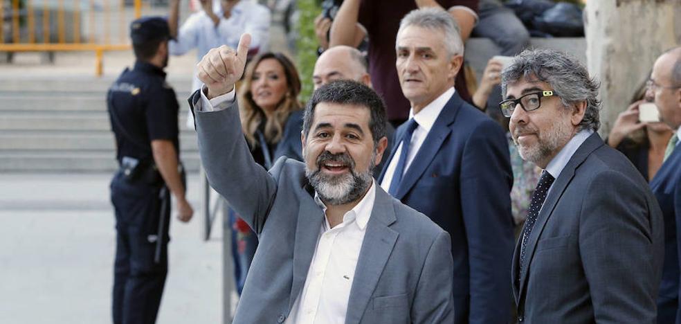 Jordi Sànchez se compromete a dejar la política para salir de prisión