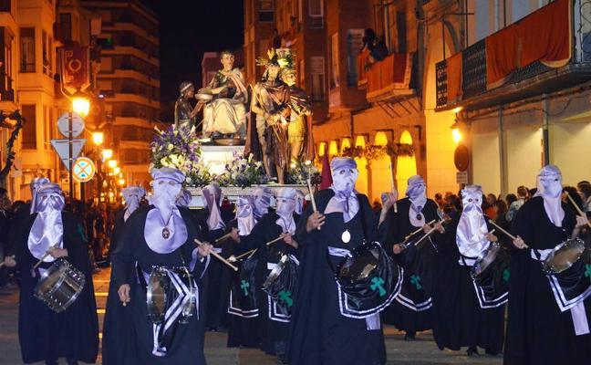 Así son las procesiones de la Semana Santa calagurritana