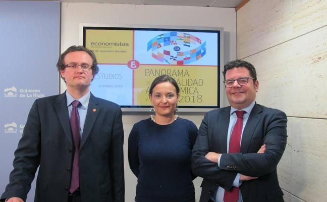 Domínguez asegura que La Rioja es una de las autonomías con los impuestos más bajos
