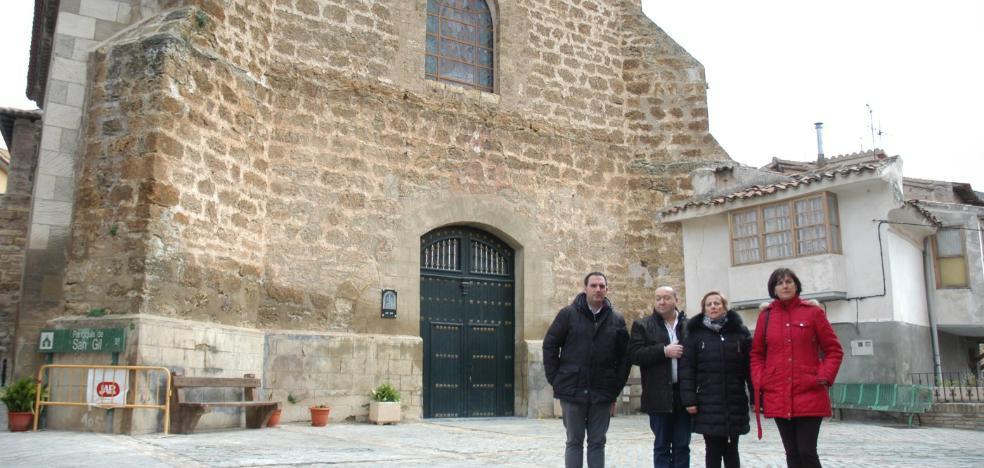 Visita de Leonor González a San Gil