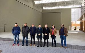 La reurbanización de la plaza de España en Murillo ha costado 256.000 euros