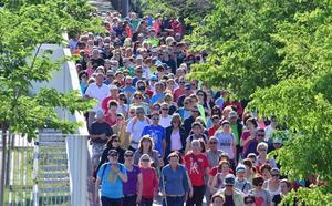 Vuelven los 'Paseos saludables', que persiguen los 50.000 participantes