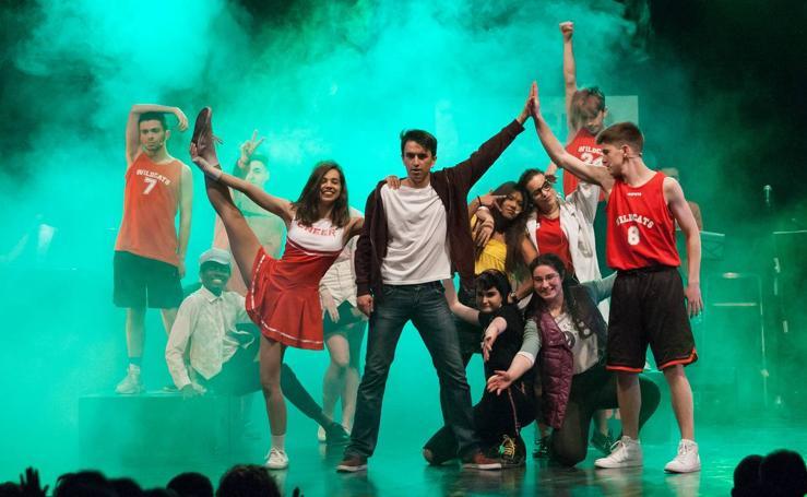 El IES Batalla Clavijo triunfa con 'High school musical'