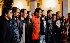 Los riojanos Tierra Santa, recibidos por Nicolás Maduro