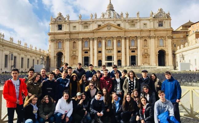 Viaje de estudios de La Salle-El Pilar a Italia