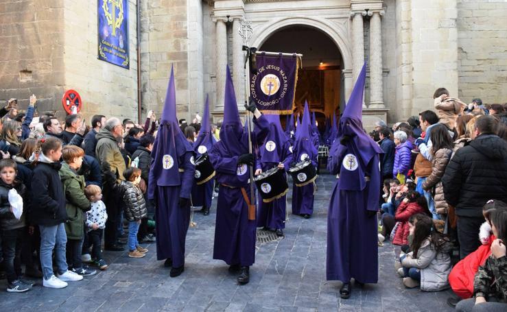 Semana Santa en Logroño 2018: Jesús Camino del Calvario