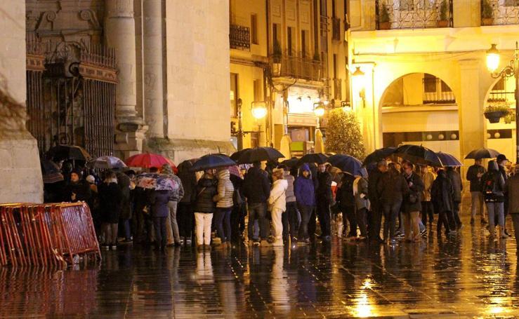 La lluvia obliga a suspender El Encuentro