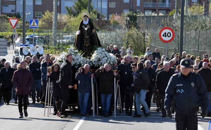 Semana Santa de Logroño 2018: Viacrucis a la Ermita del Cristo