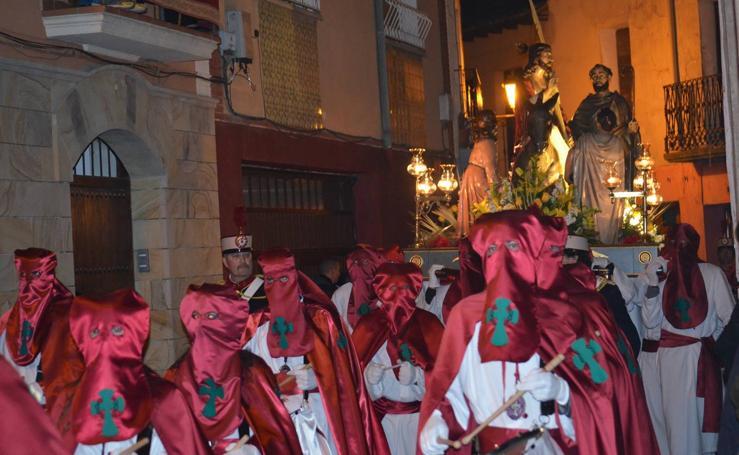 Procesión del Santo Entierro en Calahorra (I)