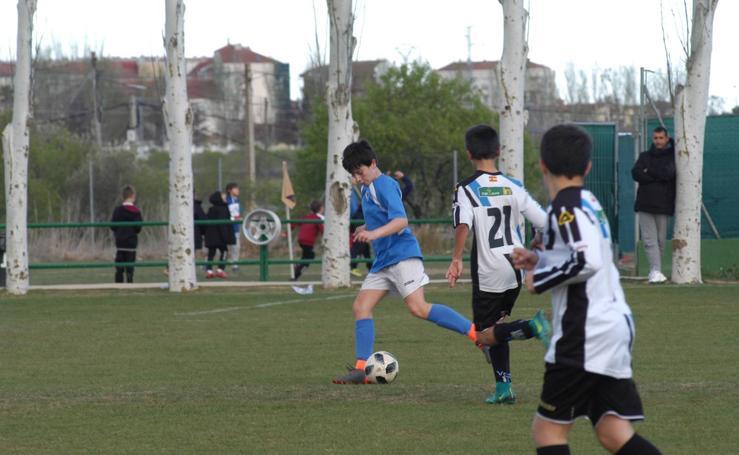 XXIII torneo de futbol base Juventud de Calahorra. Segunda jornada
