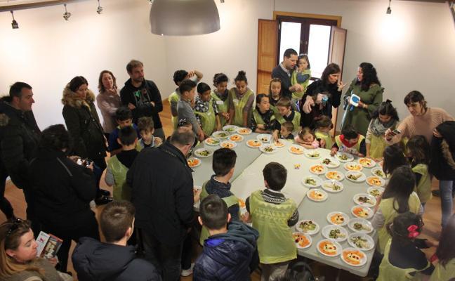 La Semana Santa Verde de Alfaro llena con su mensaje de comida saludable
