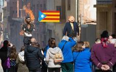 La crisis en Cataluña protagoniza los Judas de Alfaro