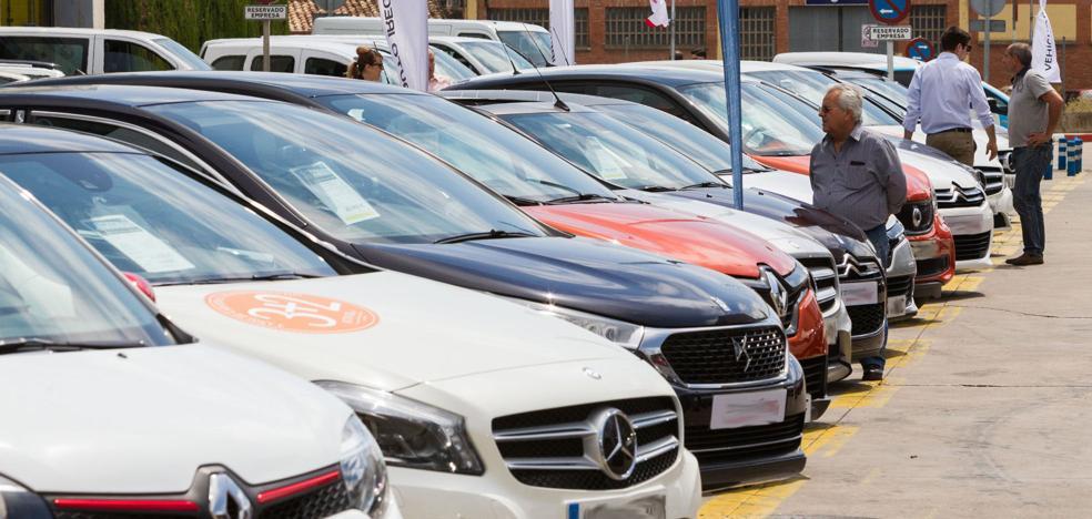 El parque móvil logroñés alcanza la cifra récord de los 86.580 vehículos