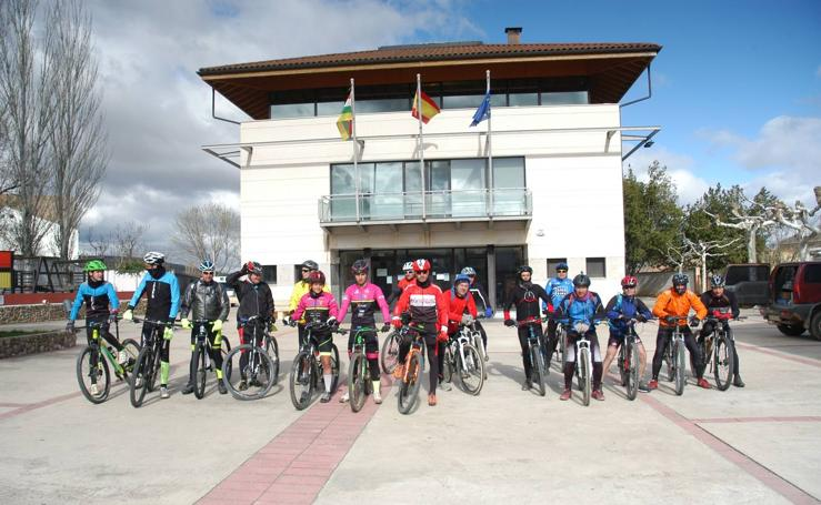 II marcha cicloturista Sierra de La Hez