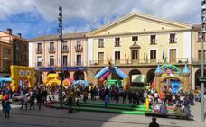 Los hinchables siguen esta tarde en la plaza