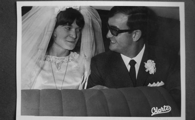 Cornago, 1967: retrato de recién casados
