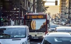 Hoy, cambios en los itinerarios de los autobuses