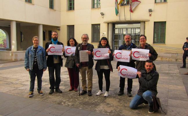 La plataforma Logroño Cívico denuncia a Ruiz Tutor por la tala de once árboles