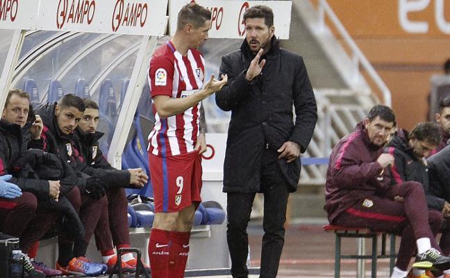 Torres se despide del Atlético