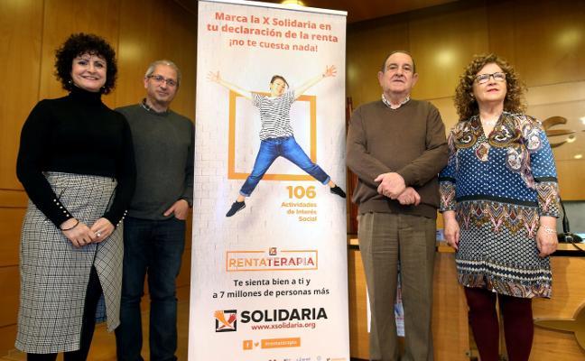 La 'x solidaria' del IRPF reporta a La Rioja 1,6 millones para 51 entidades